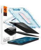 GLAStR Privacy EZ Fit Screenprotector + Applicator voor de iPhone 12 (Pro)