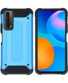 Rugged Xtreme Backcover voor de Huawei P Smart (2021) - Lichtblauw