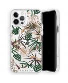 Zarya Fashion Extra Beschermende Backcover voor de iPhone 12 (Pro) - Jungle Leaves